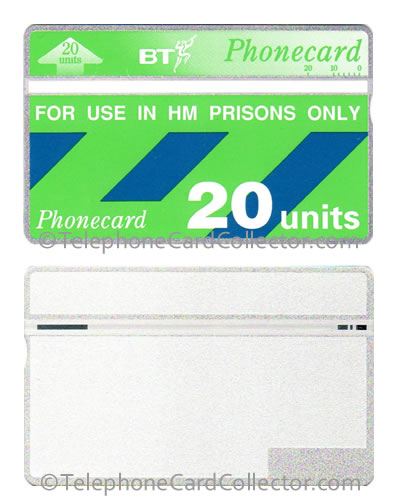 BTE011: HM Prison Full Face Trial - BT Phonecard