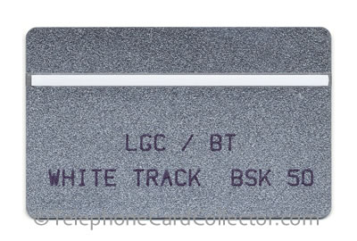BTE018: LGC / BT Trial Card : White Track BSK 50