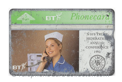 BTI037: NHS Trust Conference - BT Phonecard
