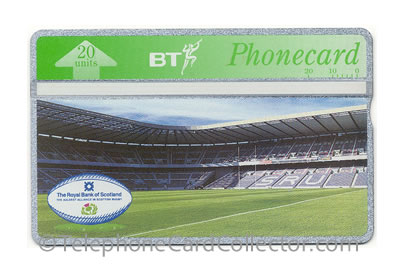 BTP277: Royal Bank of Scotland / Scotland v South Africa Rugby - BT Phonecard