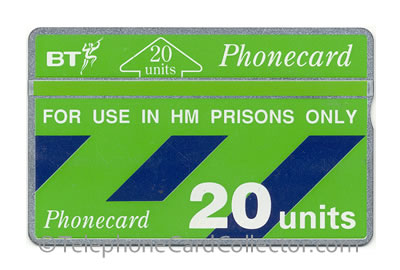 CUP004A: HM Prisons Only - BT Phonecard