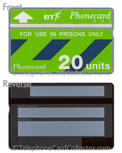 CUP007: Prisons Only (New Design) - BT Phonecard