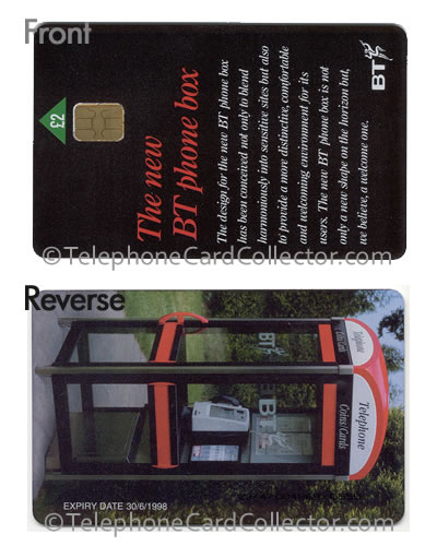PRO023: The New BT Phonebox - BT Phonecard