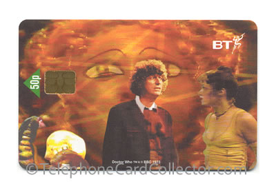PRO120: Dr Who - BT Phonecard