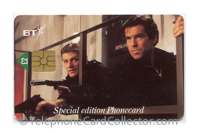 PUB023: Goldeneye No. 1 - BT Phonecard